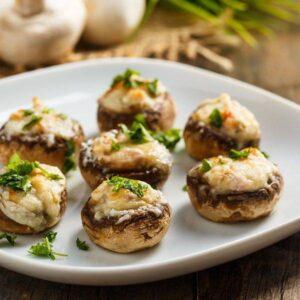 Delivery Ciuperci Umplute cu mozzarella Oala Bucuresti Chefs