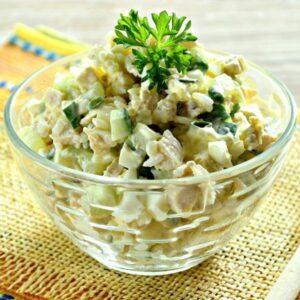 Delivery Salată de pui cu ciuperci Oala Chefs Bucuresti