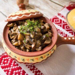 delivery livrare oala chefs Bucuresti ciuperci Tocăniță